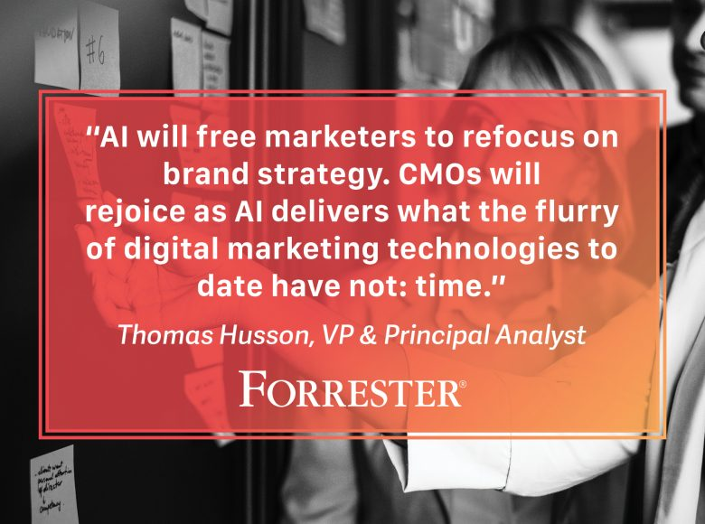Forrester Report AI Marketing