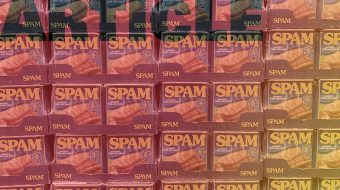 Grid of SPAM cans for Black Friday