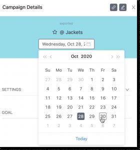 Tinyclues Campaign Calendar